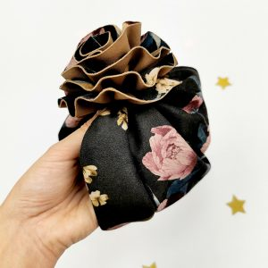 baby-turban-mädchen-handmade-blume-sendoro-shop-lollipop-blumen-schwarz