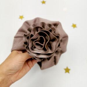 baby-turban-mädchen-handmade-rosa-beige-braun-blume-sendoro-shop-rosa-lollipop-details