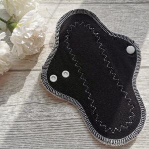 stoffbinde-bambus-sendoro-shop-handmade-schwarz-slipeinlage-20cm