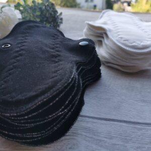 stoffbinde-baumwolle sendoro-shop-handmade-weiß-slipeinlage 20 cm-fabrics-brusan-design ausfluss wachbar